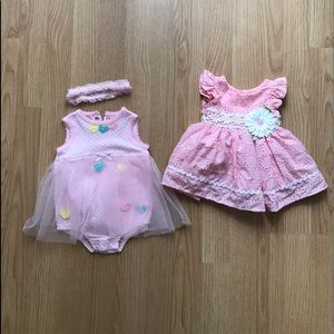 Other - Baby girl dresses 0-3 months NWOT